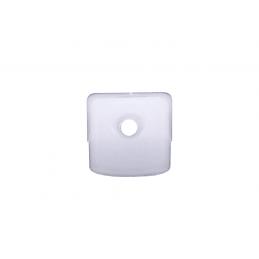 Držiak skla - 10ks / Biely