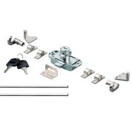 Zámok trojcestný T30 / Nikel