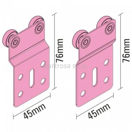 Set  SINKS CLASSIC 500 V / Nerez + SINKS VENTO 4S / Chróm