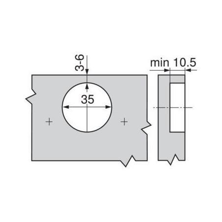 Výsuvná elektrická zásuvka OTIO LIFT + USB / Hliník