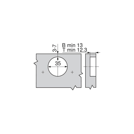 Batéria Blanco AVONA / Chróm