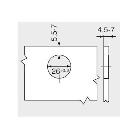 Pracovná doska K370 SM / Čierny mramor DELUXE