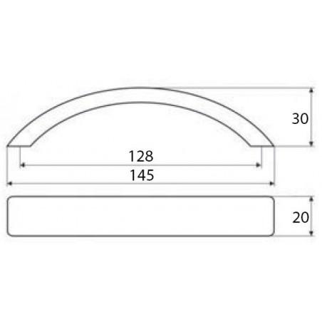 Stolová konštrukcia X-DRIVE / Lakovaná surová oceľ