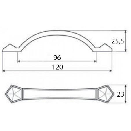 SET SINKS CLASSIC / Metalblack + SINKS vitaliaGR / Metalblack