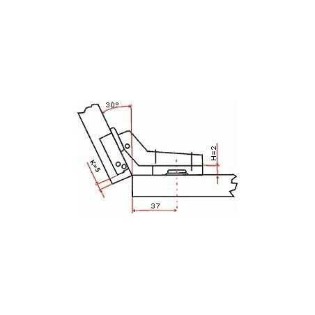 Odsávač pár COUNTRY WOOD FCS 60A2 EGC - 590 mm / Biela - jelšové drevo