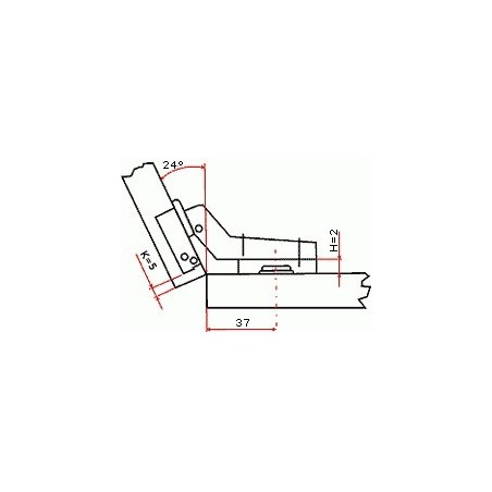 Odsávač pár COUNTRY WOOD FCS 90A2 EGC - 890 mm / Biela - jelšové drevo