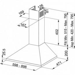 Elektrický zámok s klávesnicou Systemo / čierny
