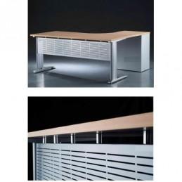 Dekoračný predný panel šedý