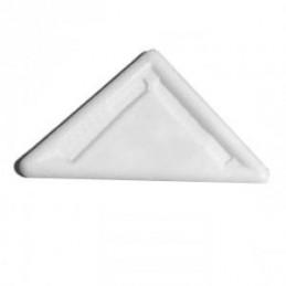 Klzák trojuholník - biely 10ks