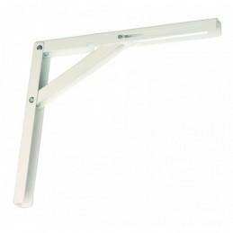 Sklopná konzola kovová / Biela