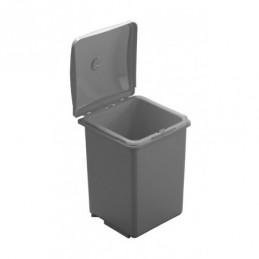 Odpadkový kôš PEPE 40 / Šedý