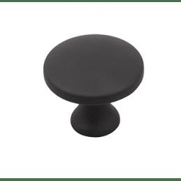 Knopka CIRCLE / Čierna matná